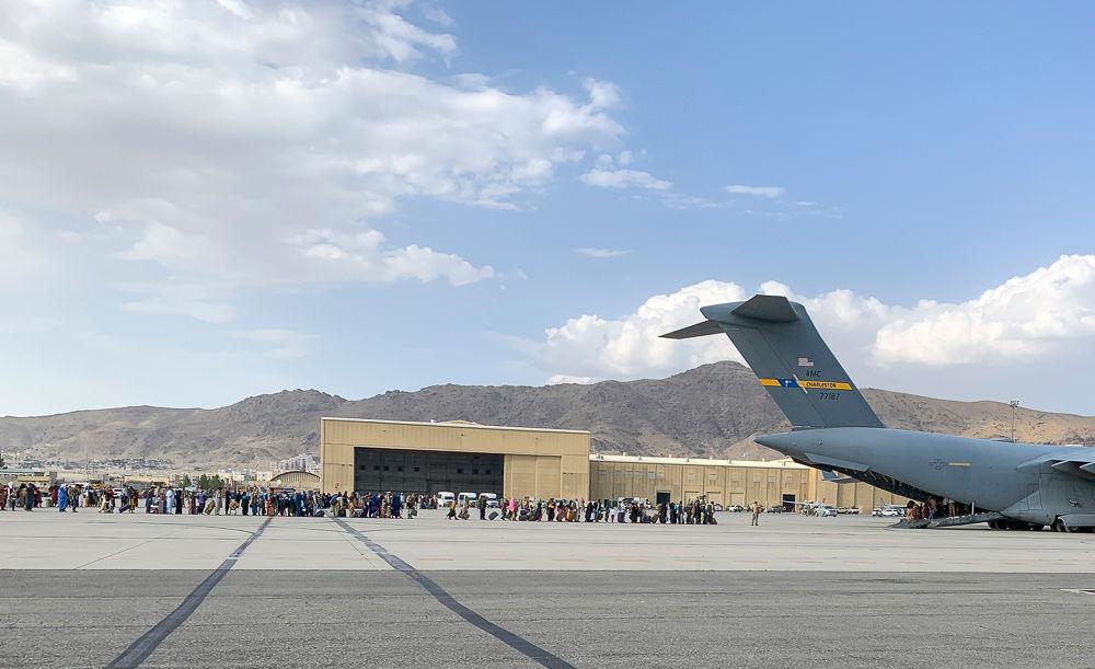 Zukunft des Flughafens von Kabul treibt Taliban und den Westen um