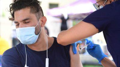 Viruslast bei Geimpften und Ungeimpften nach Infektion ähnlich hoch