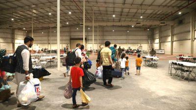 Katar: Versorgung für evakuierte Afghanen schwierig – Angst vor Menschenhandel
