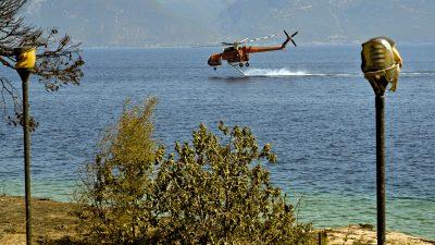 """""""Wir sind durch die Hölle gegangen"""": Brände in Touristengebieten am Mittelmeer wüten weiter"""