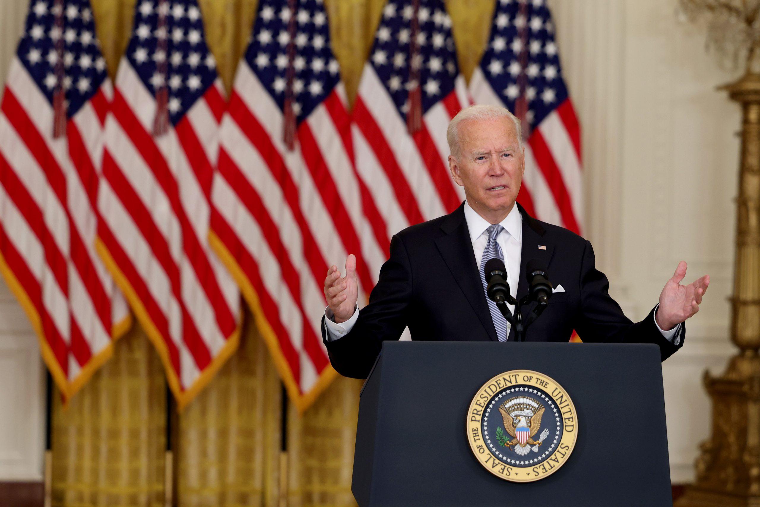 Biden: US-Soldaten sollten nicht in Krieg sterben, den afghanische Armee selbst nicht führen will