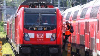 GDL kündigt Bahn-Streiks bis 7. September an