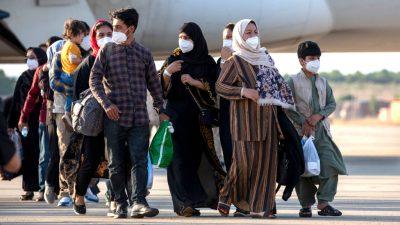 Afghanen ziehen nach Deutschland weiter
