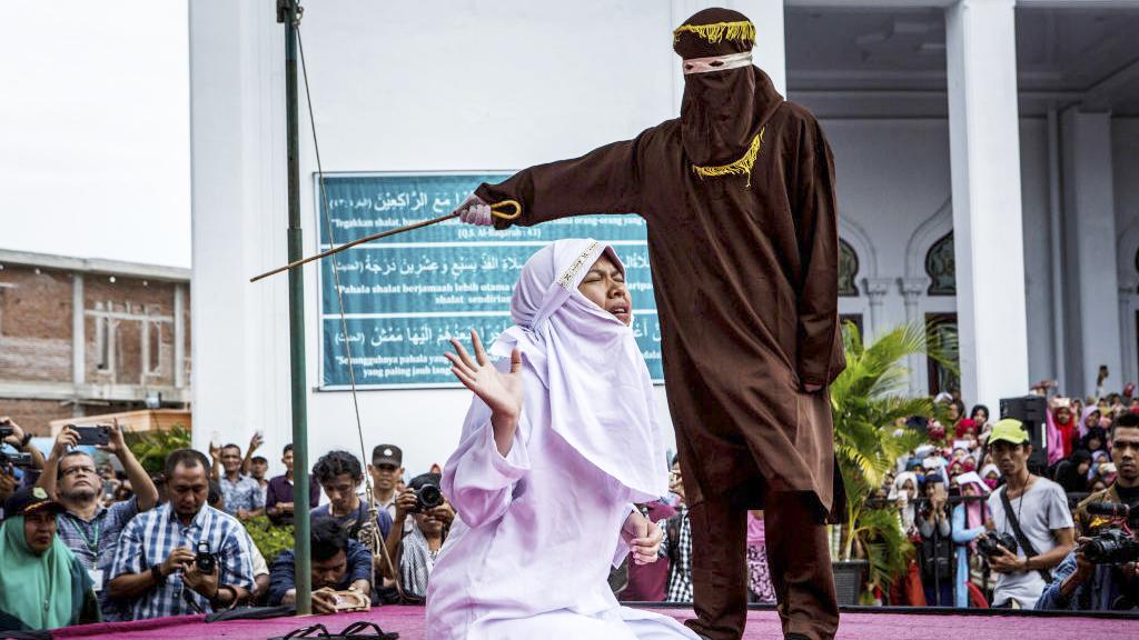 Peitschenhiebe im Namen des Koran