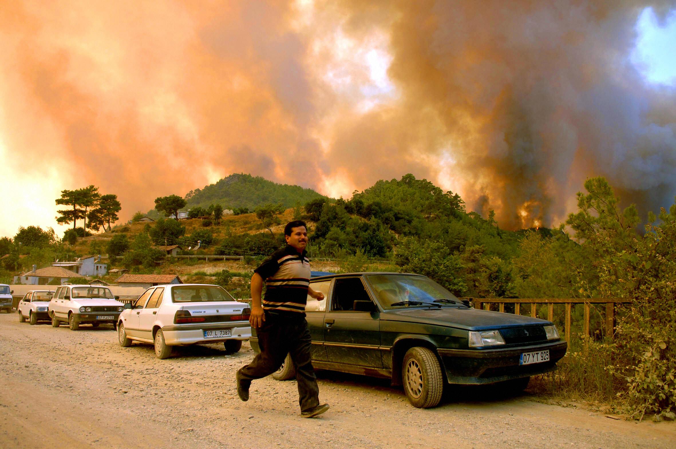 Verheerende Waldbrände in der Türkei: Militante Kurden bekennen sich zu Brandstiftung