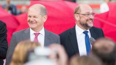 Martin Schulz-Phänomen? Scholz holt die SPD zurück