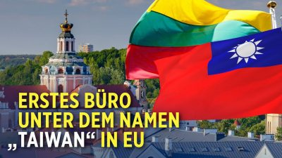 Taiwan eröffnet diplomatische Vertretung in Litauen – China verärgert