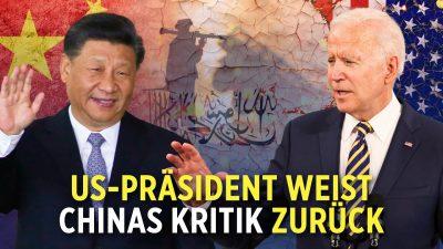 Machtübernahme durch Taliban in Afghanistan: China kritisiert die USA