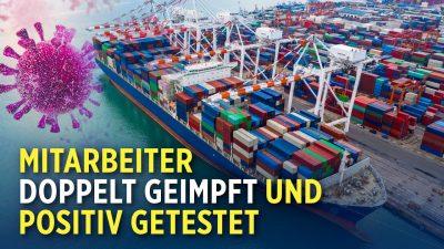 Chinas größter Frachthafen stellt Betrieb teilweise ein