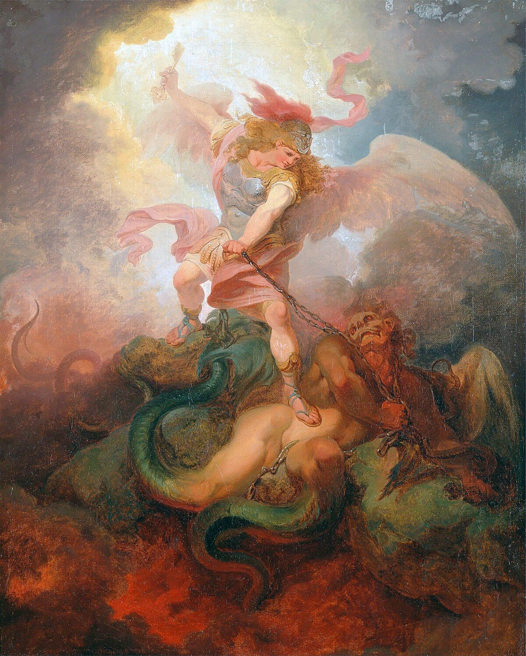 """""""Der Engel, der Satan fesselt"""""""