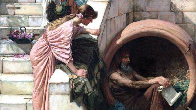 Diogenes und die Suche nach der Wahrheit