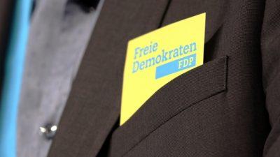 """FDP will """"Linksverschiebung"""" der deutschen Politik verhindern"""