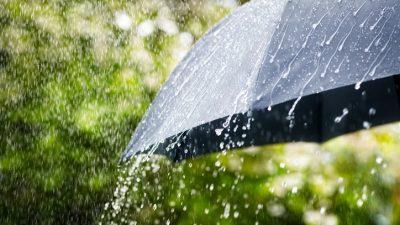 Wetterdienst warnt vor schweren Gewittern in Süddeutschland
