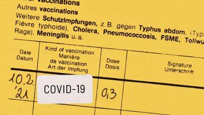Betrüger bieten Zivilpolizisten in Essen gefälschte Impfausweise an