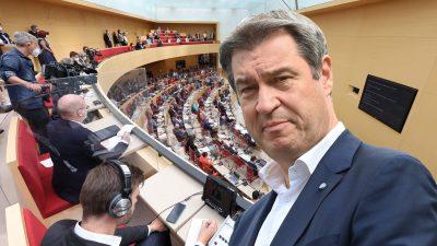 Volksbegehren läuft – Initiative will Bayernlandtag und Söder-Regierung auflösen