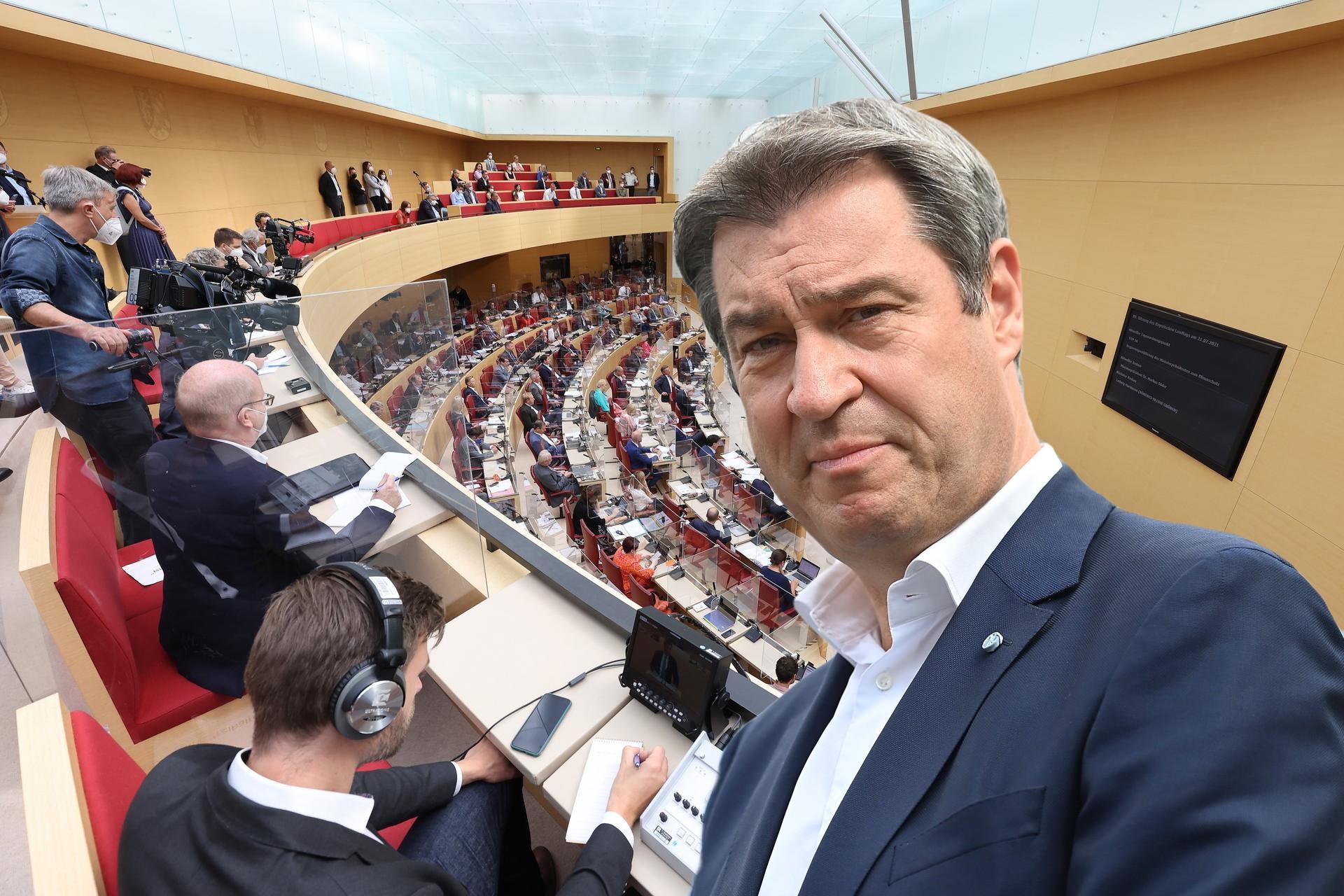 """Volksbegehren zur Auflösung des Bayern-Landtags ist keine """"Querdenken""""-Aktion"""
