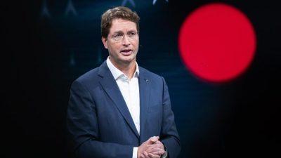 Daimler-Chef: Weniger Arbeitsplätze nach Wechsel zu Elektro