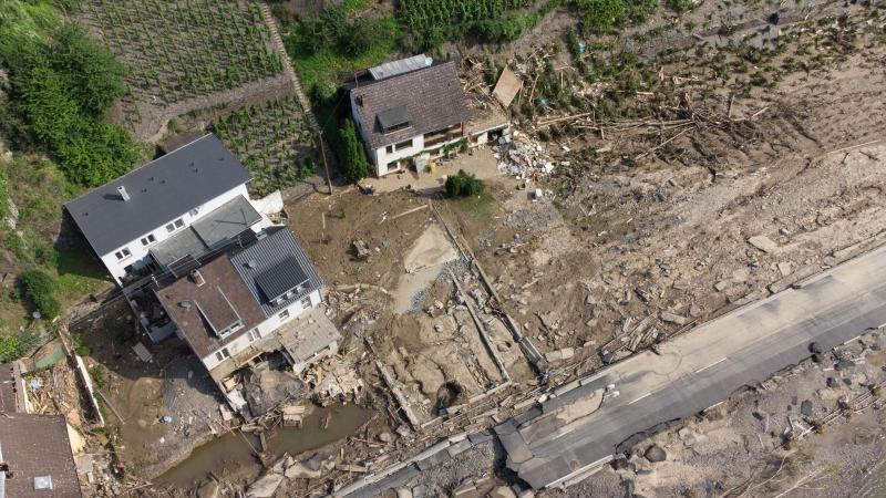 Allianz: Schäden durch Hochwasser etwa 400 Millionen Euro