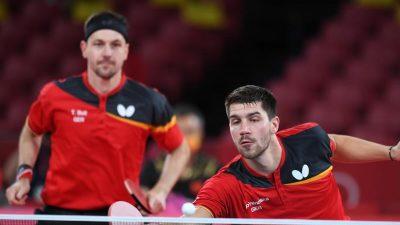Tischtennis-Herren unterliegen China im Finale