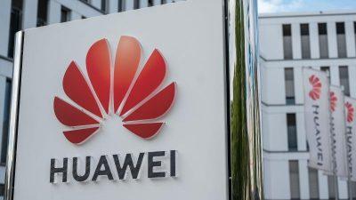 Huawei mit massiven Umsatzeinbruch nach US-Sanktionen