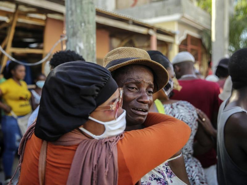 EU stellt Haiti nach Erdbeben drei Millionen Euro Soforthilfe zur Verfügung