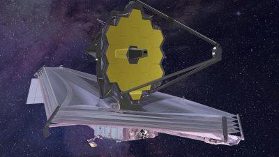 """Neue Möglichkeiten mit Weltraumteleskop """"James Webb"""""""