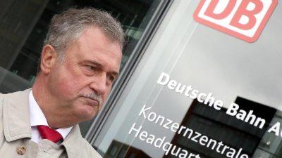 """Bahnchef: """"Claus Weselsky will die Belegschaft bewusst spalten"""""""