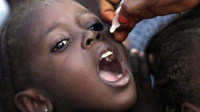Polio-Ausbruch: Von Impfungen stammender Virus gefunden