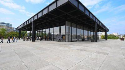 Neue Nationalgalerie in Berlin wieder eröffnet