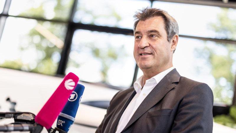 Söder weist Kritik an fehlender Unterstützung für Laschet zurück
