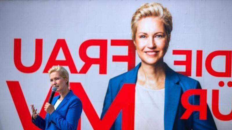 Rot-Rot: Manuela Schwesig will mit der Linken regieren
