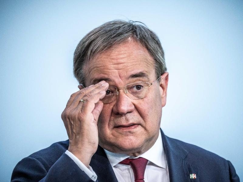 Forderung aus CDU: Laschet muss Regierungsteam präsentieren