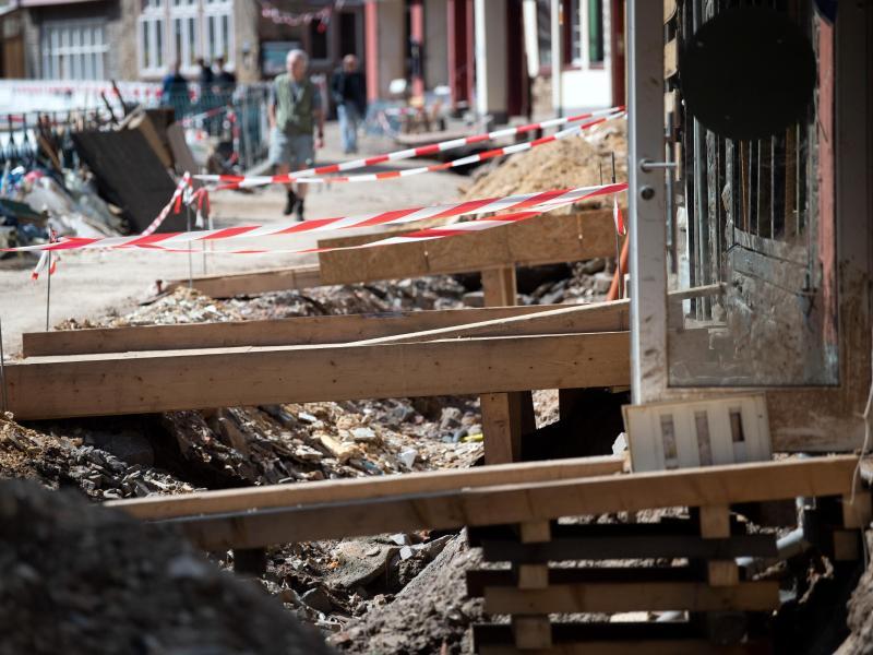 Flutkatastrophe: Andrang auf Wiederaufbau-Hilfen erwartet