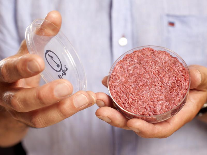 """Unternehmen treiben """"Laborfleisch"""" voran"""