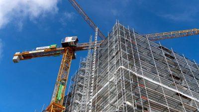 Baubranche kämpft weiter mit Materialmangel