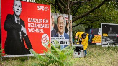 SPD vor Union und Grünen – Nur Söder schlägt Scholz in der Kanzlerfrage