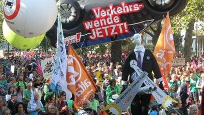 Umweltaktivisten planen Protestaktionen anlässlich der Automobilmesse IAA
