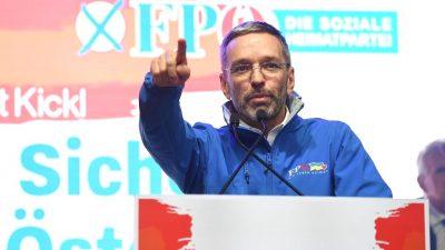 FPÖ: Kickl löst mit Ankündigung Spekulationen über Rücktritt aus – heimlich geimpft?