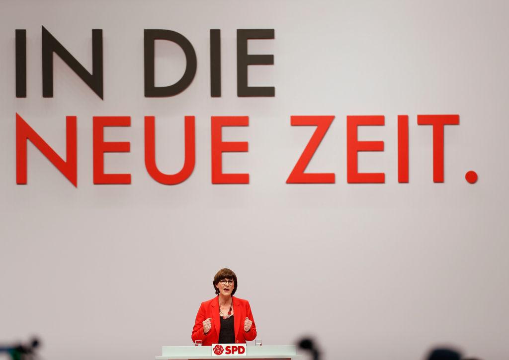 Linke Positionen: Versteckt die SPD Saskia Esken bis nach der Wahl?