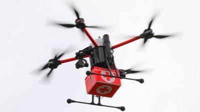Drohnen als zukünftige Verkehrsträger: Hamburg testet Drohnen-Lufträume
