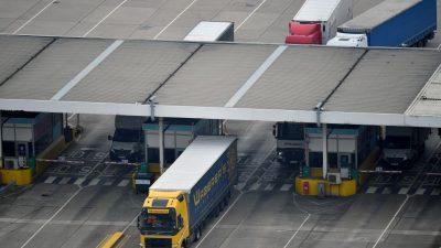 Großbritannien verschiebt Einführung vollständiger Grenzkontrollen für EU-Waren