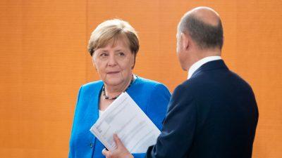"""Merkel kann mit Olaf Scholz im Kanzleramt """"ruhig schlafen"""""""