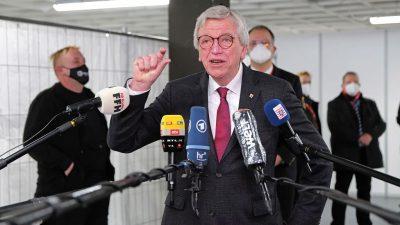 Bouffier: Union kann auch auf Platz zwei Regierungsbildung angehen