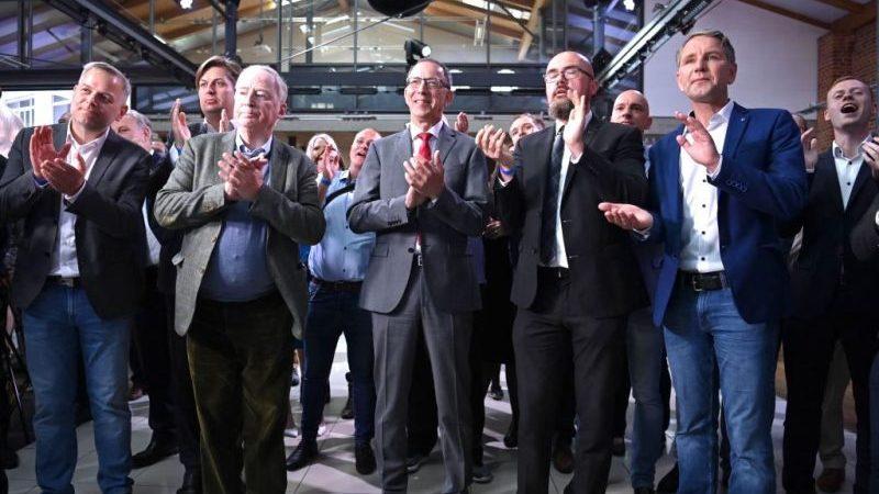 AfD bei Bundestagswahl stärkste Partei in Thüringen