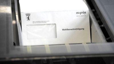 Die Wahlen zum 20. Deutschen Bundestag haben begonnen