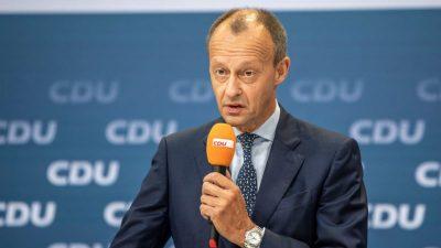 Merz kritisiert hohe Zahl von Abgeordneten ohne Berufserfahrung im Bundestag