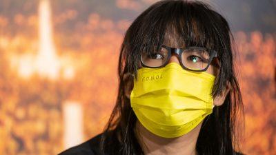 Vier prominente Demokratie-Aktivisten in Hongkong festgenommen