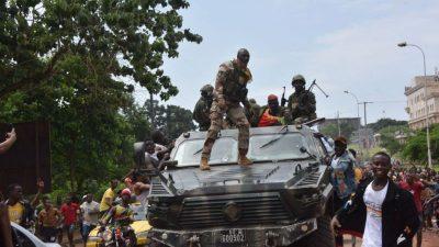 Putschisten in Guinea kündigen Bildung von Einheitsregierung an