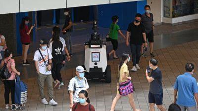 Singapur: Autonomer Roboter soll unerwünschtes Verhalten unterbinden