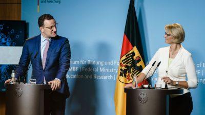 Bund will Entwicklung von Covid-Arzneimitteln weiter vorantreiben